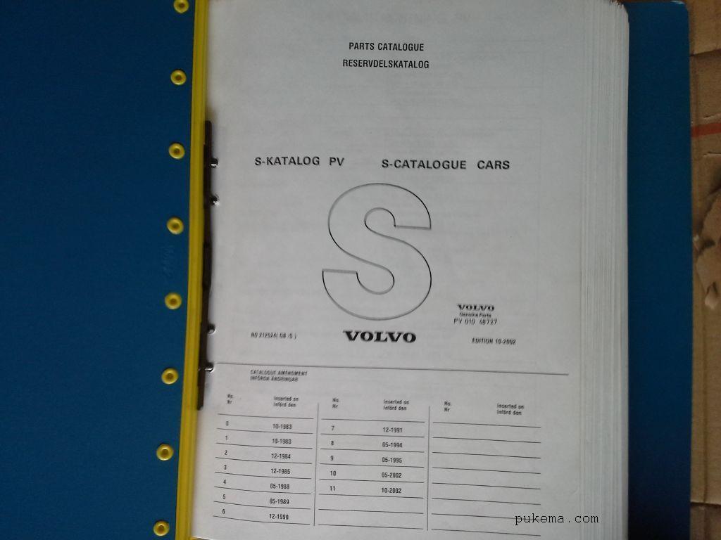 Harvinaista Volvo -materiaalia
